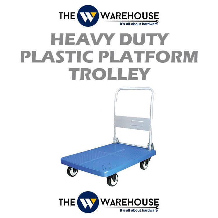 Heavy Duty Plastic Platform Trolley