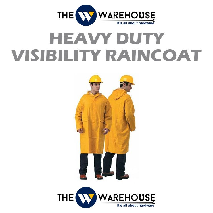 Heavy Duty Visibility Raincoat
