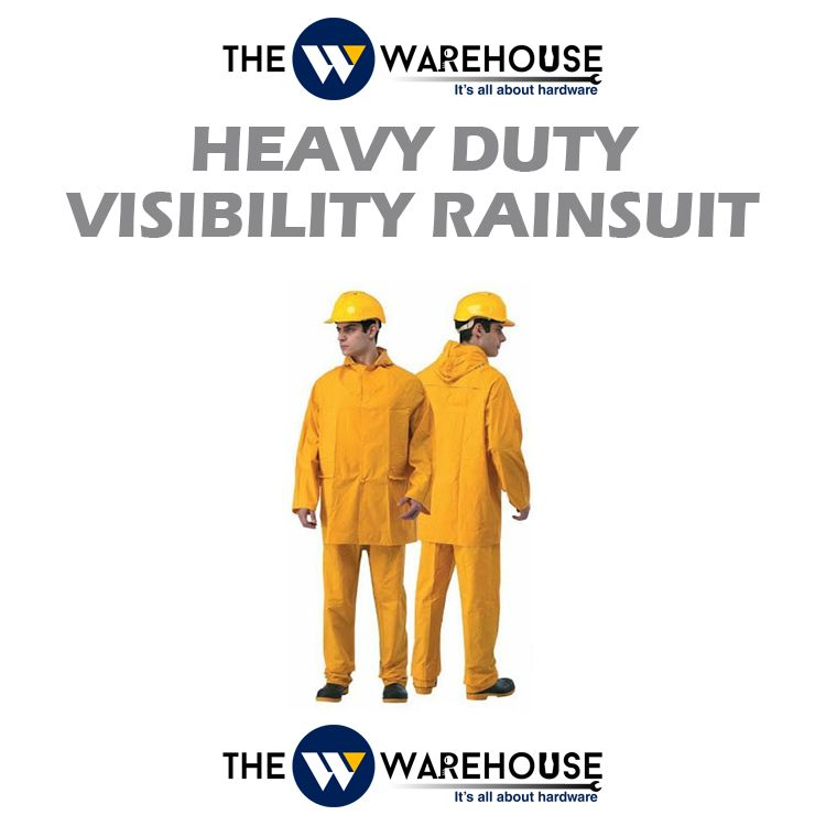 Heavy Duty Visibility Rainsuit