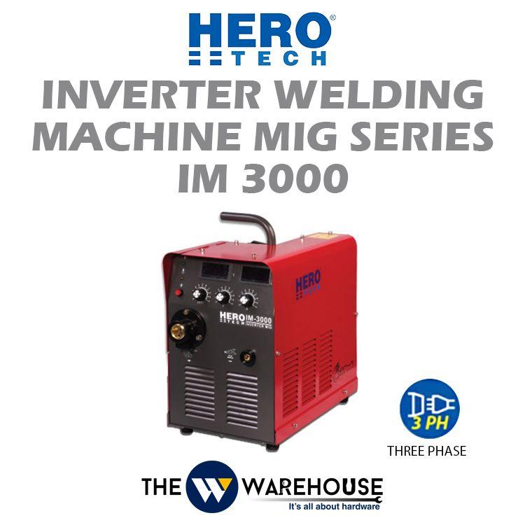 Hero Tech Inverter Welding Machine - MIG Series (IGBT) IM3000
