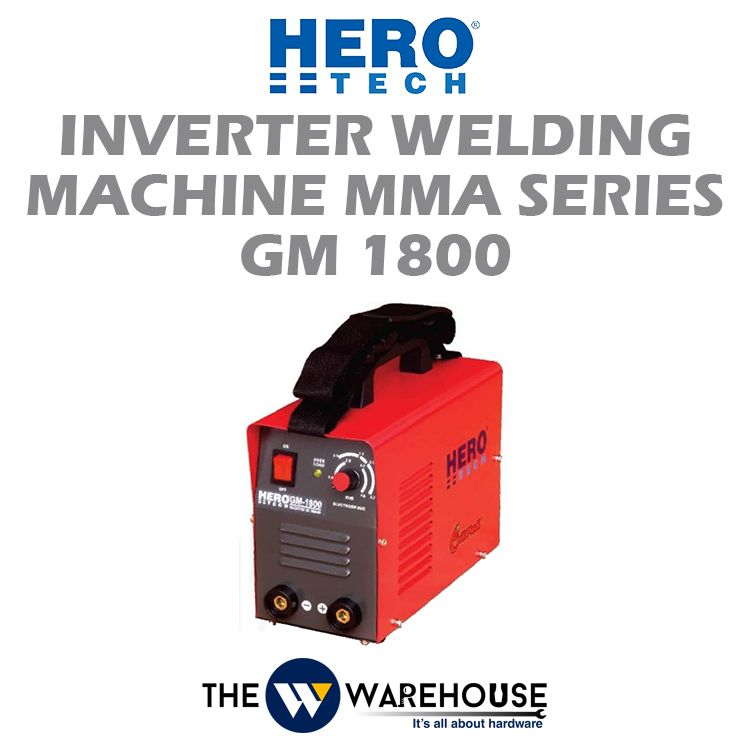 Hero Tech Inverter Welding Machine MMA Series (MOSFET) GM1800