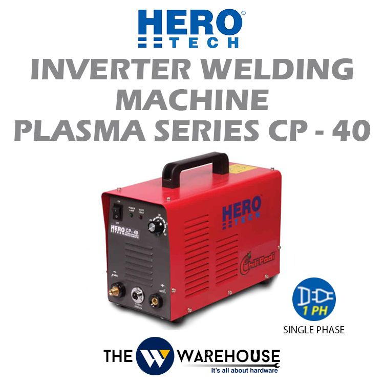 Hero Tech Inverter Welding Machine PLASMA Series CP-40