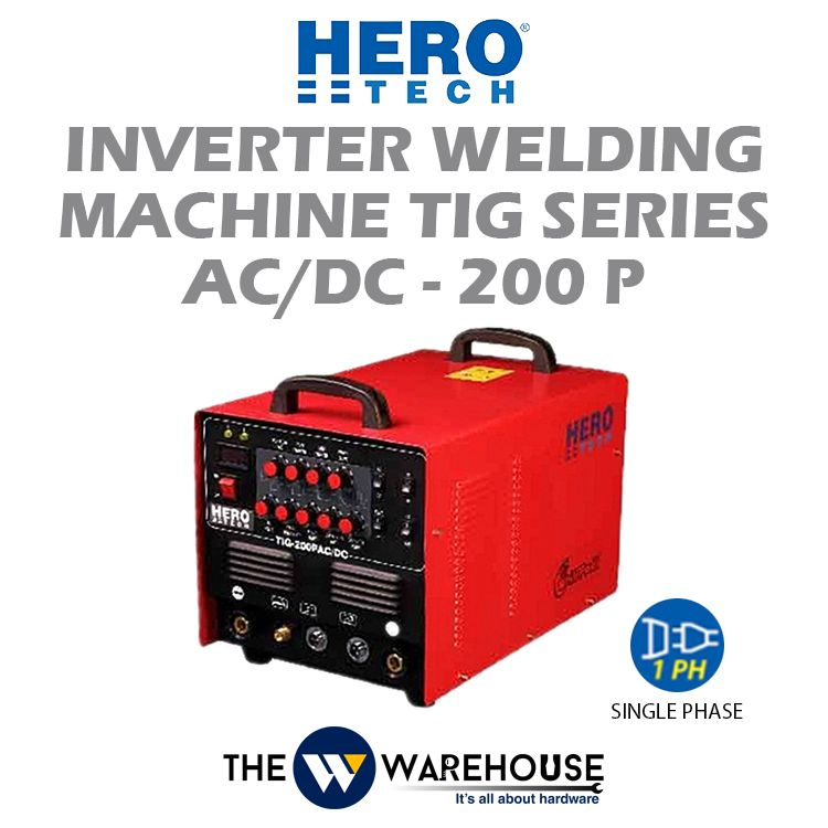 Hero Tech Inverter Welding Machine - TIG Series AC/DC-200P