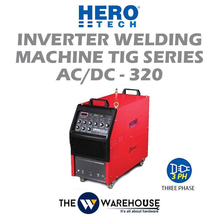 Hero Tech Inverter Welding Machine - TIG Series AC/DC-320