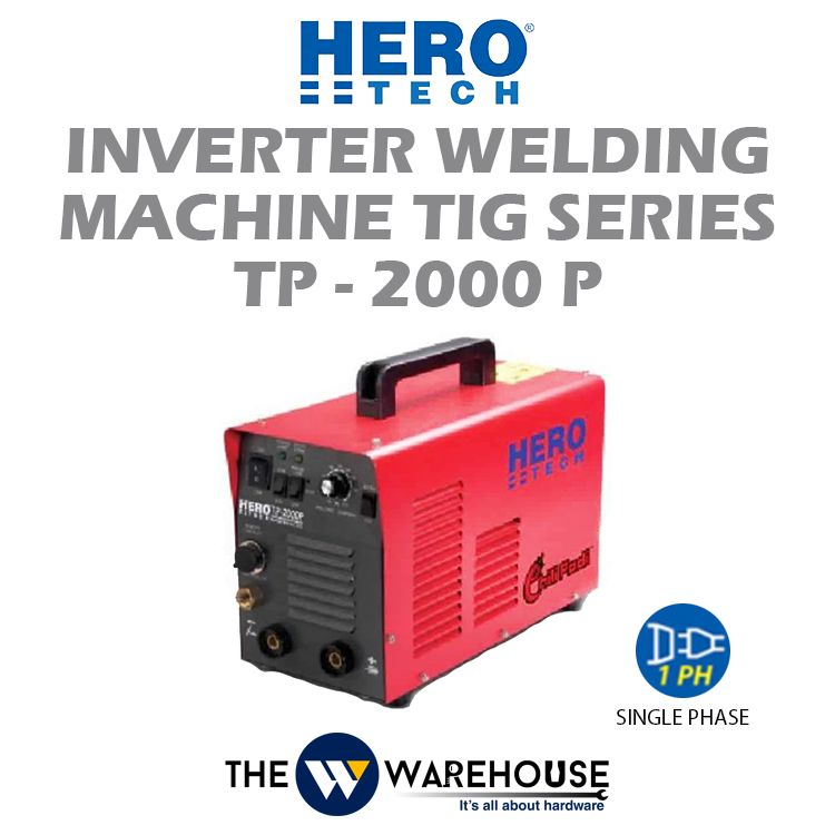 Hero Tech Inverter Welding Machine TIG Series TP-2000P
