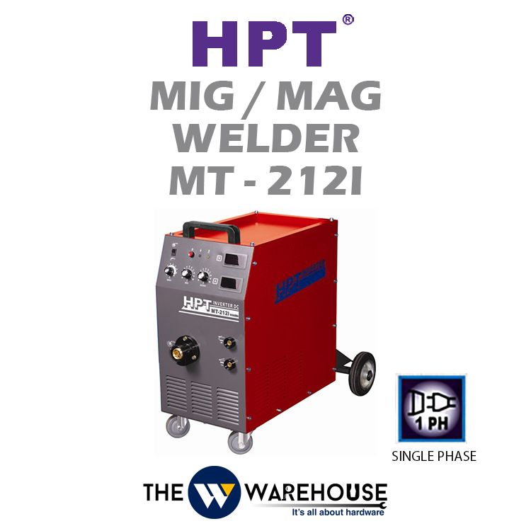 HPT MIG/MAG Welder (IGBT) MT-212i
