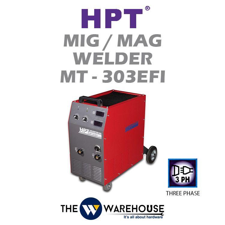 HPT MIG/MAG Welder (IGBT) MT-303EFi