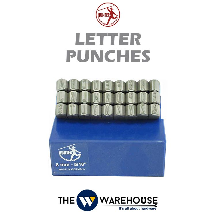 Hunter Letter Punches