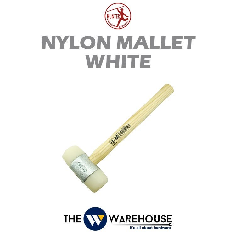 Hunter Nylon Mallet - White