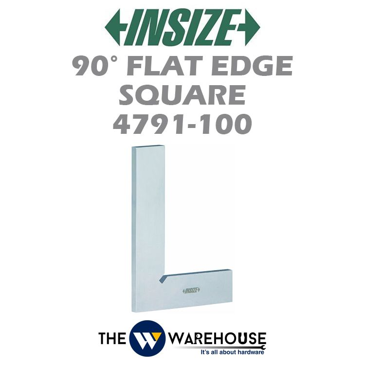 Insize 90 Degree Flat Edge Square 4791-100