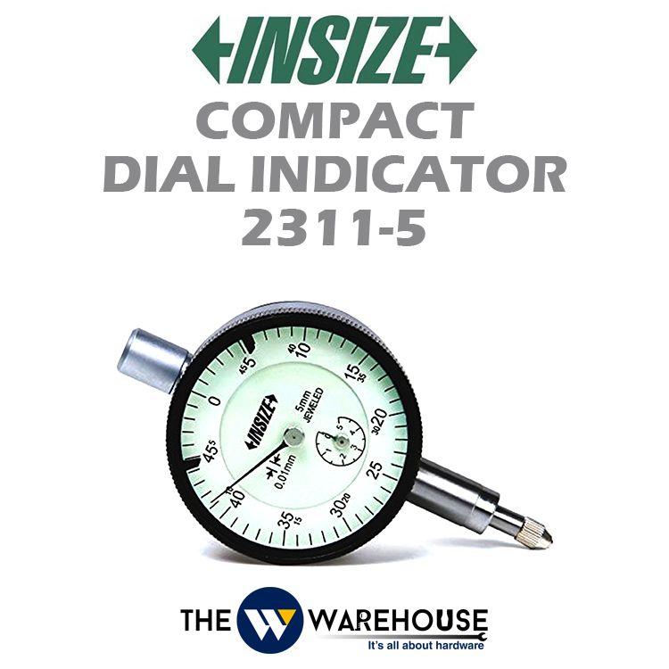 Insize Compact Dial Indicator 2311-5