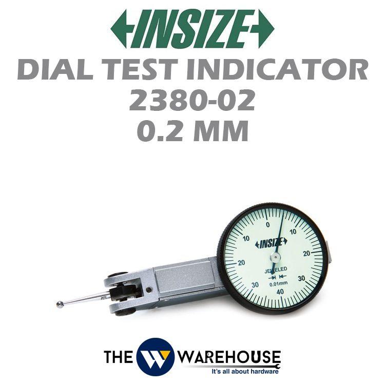 Insize Dial Test Indicator 2380-02