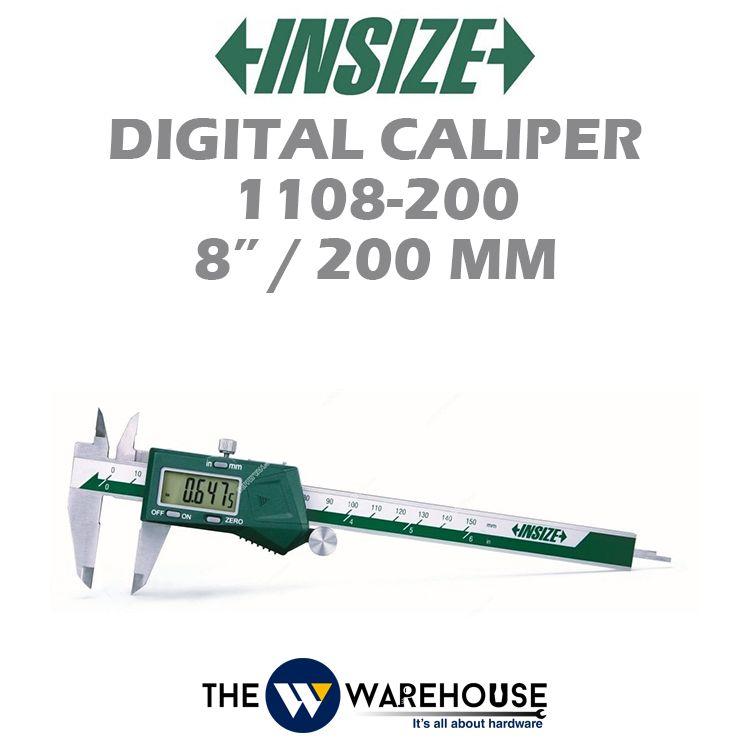 Insize Digital Caliper 1108-200