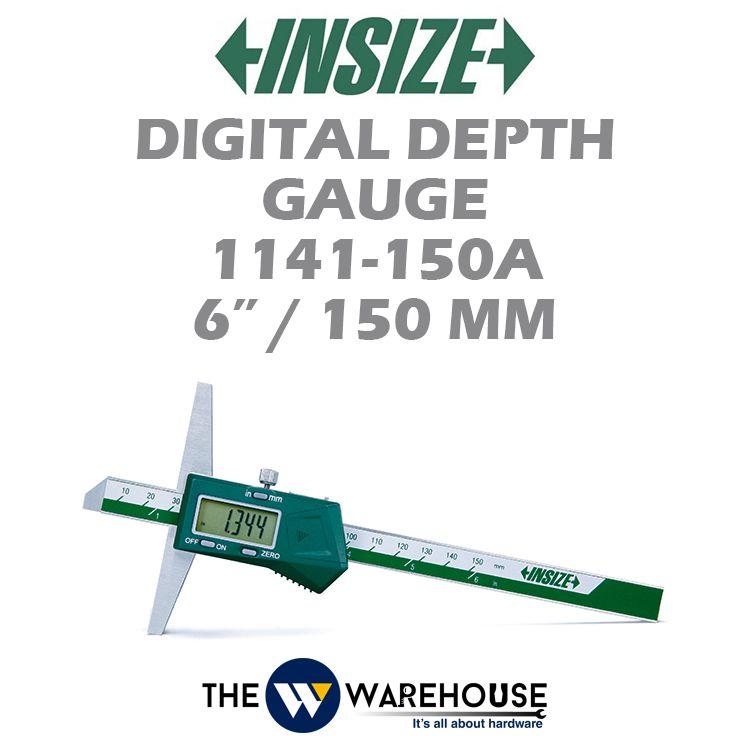 Insize Digital Depth Gauge 1141-150A