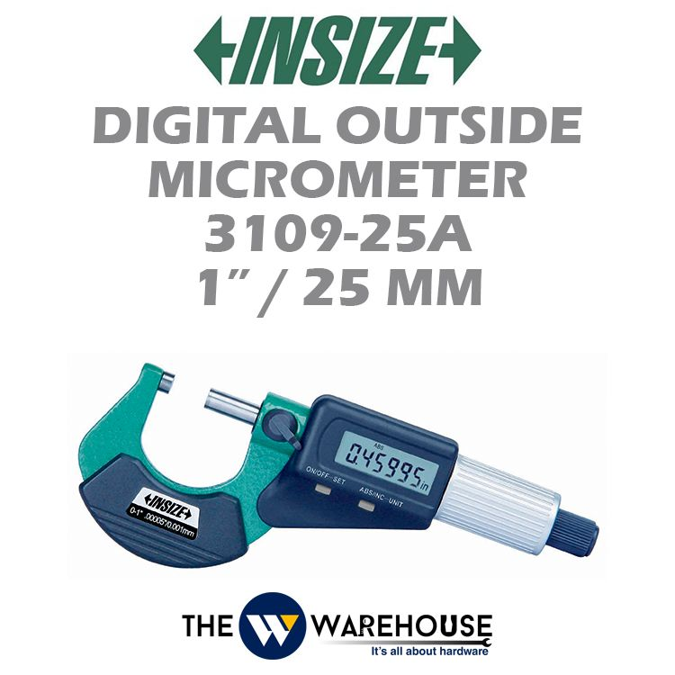 Insize Digital Outside Micrometer 3109-25A