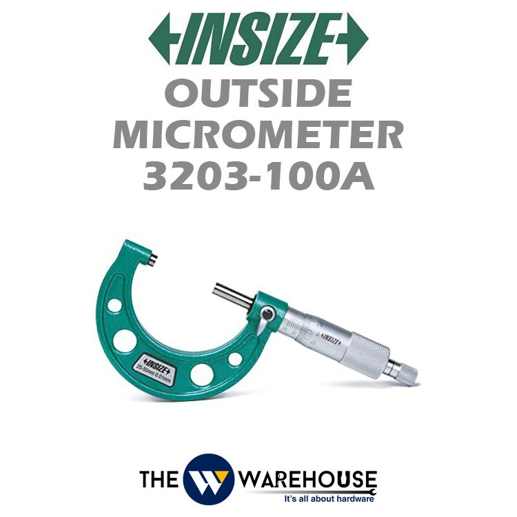 Insize Outside Micrometer 3203-100A