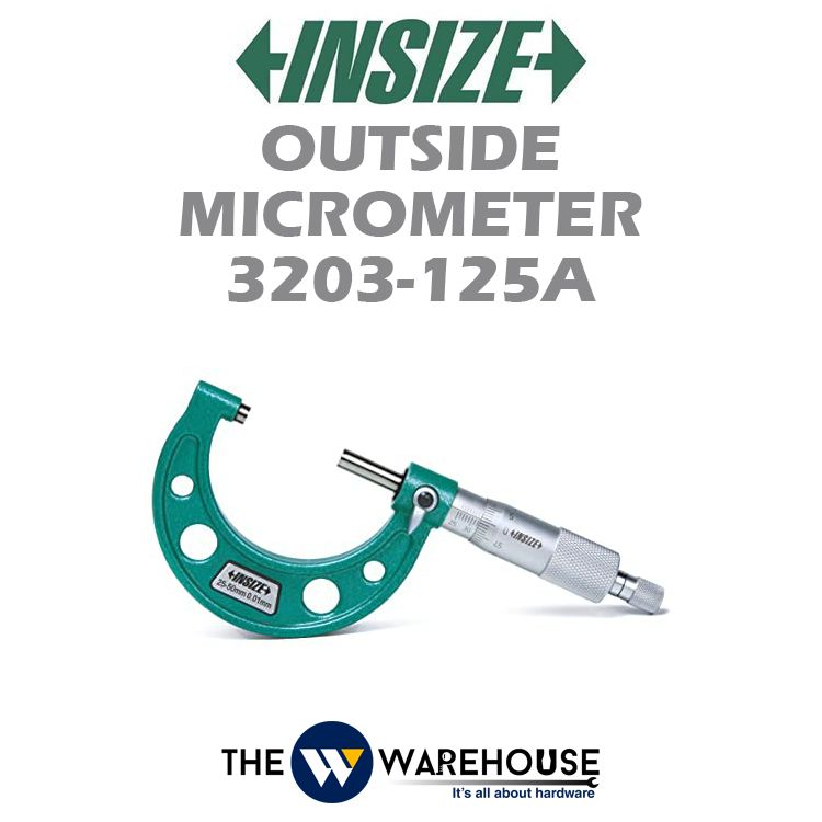 Insize Outside Micrometer 3203-125A