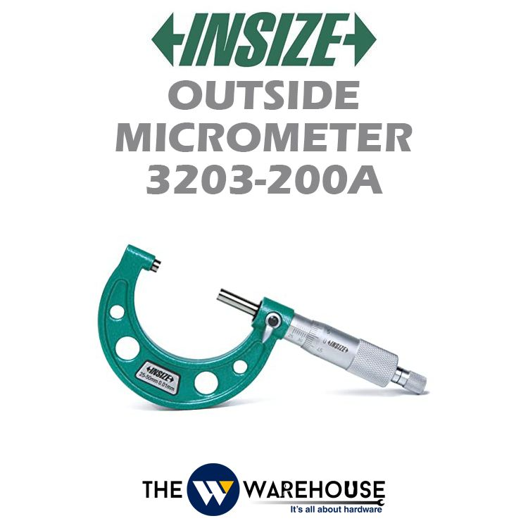 Insize Outside Micrometer 3203-200A