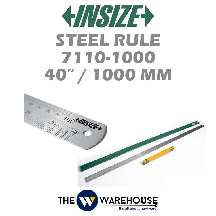 Insize Steel Rule 7110-1000