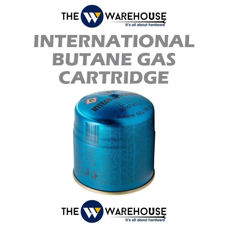 International Butane Gas Cartridge (Camping Gas)