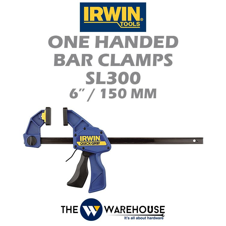 Irwin One Handed Bar Clamps SL300 6
