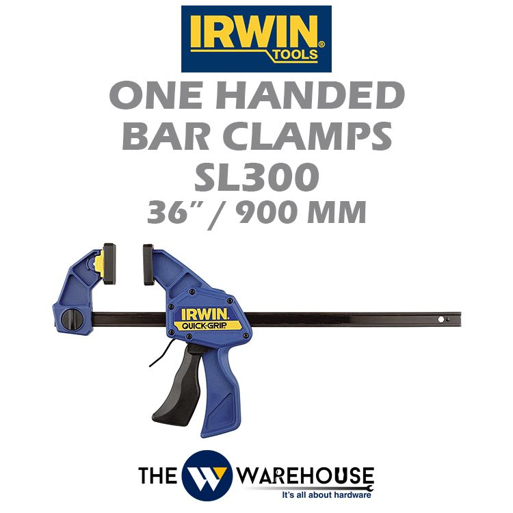 Irwin One Handed Bar Clamps SL300 36