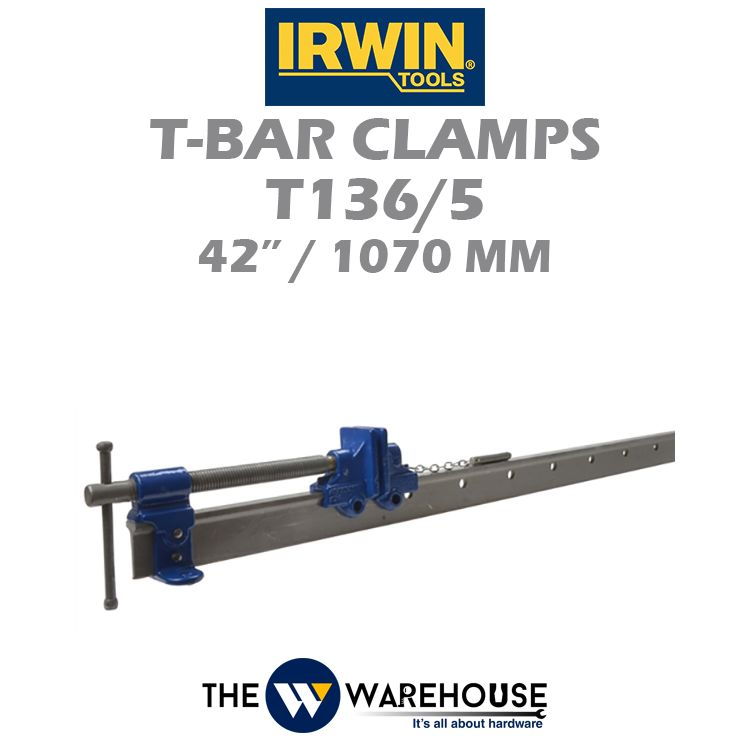 Irwin T-Bar Clamps T136/5 42