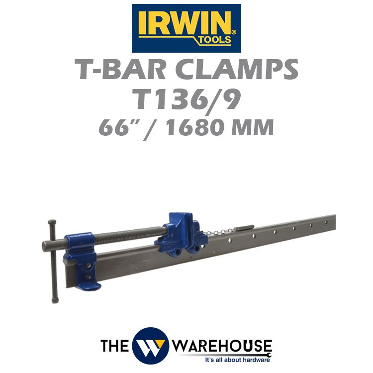 Irwin T-Bar Clamps T136/9 66