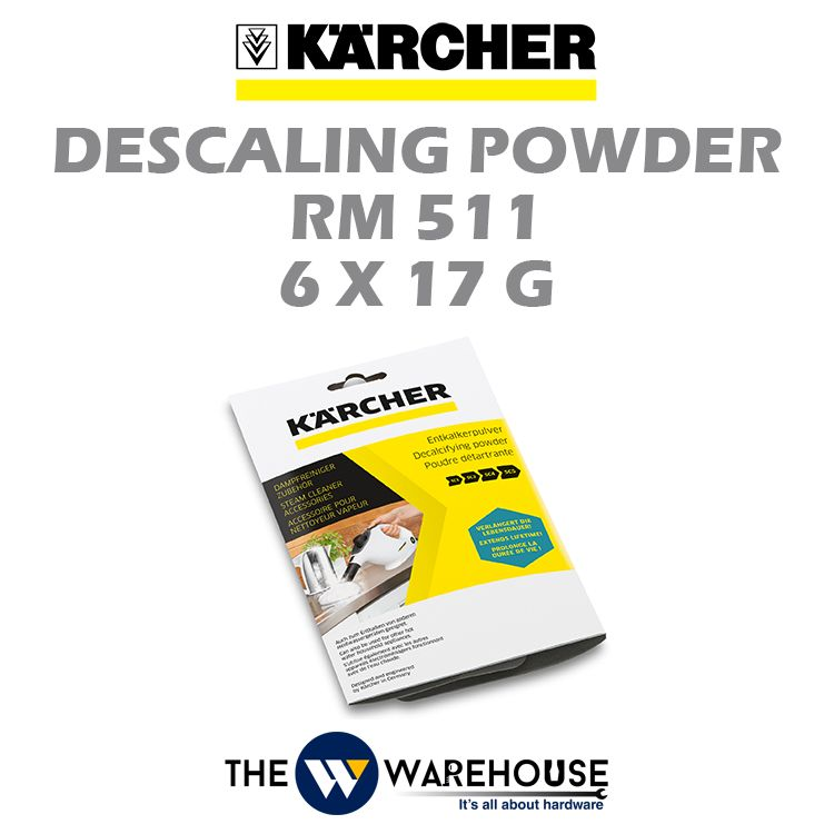Karcher Descaling Powder RM511 6x17G