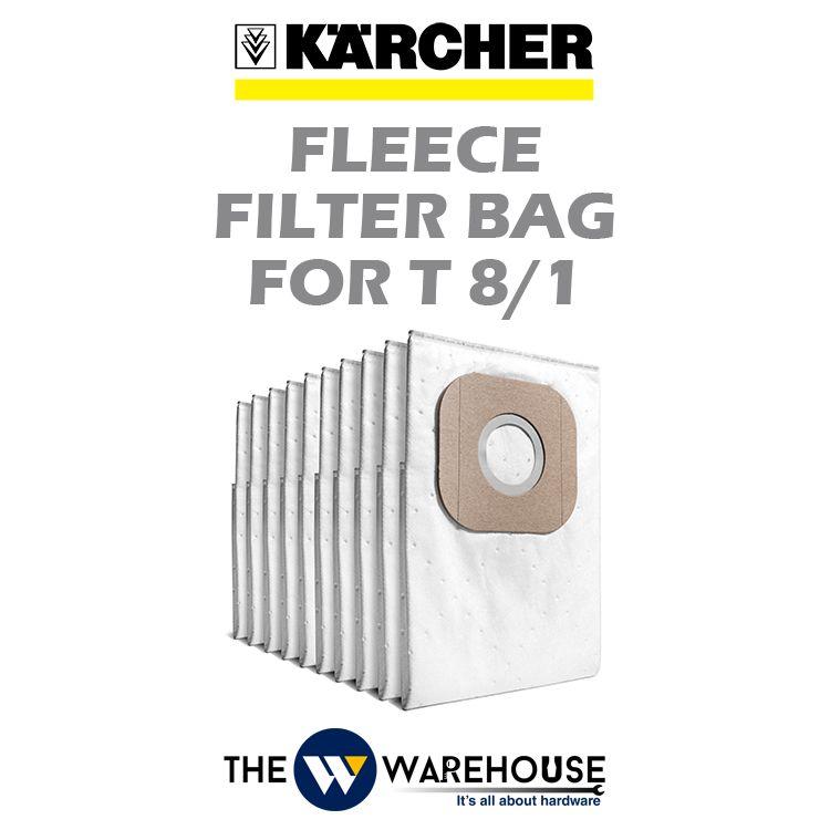 Karcher Fleece Filter Bag for T8/1