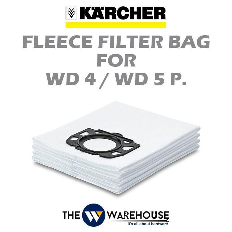 Karcher Fleece Filter Bag for WD4 / WD5P.