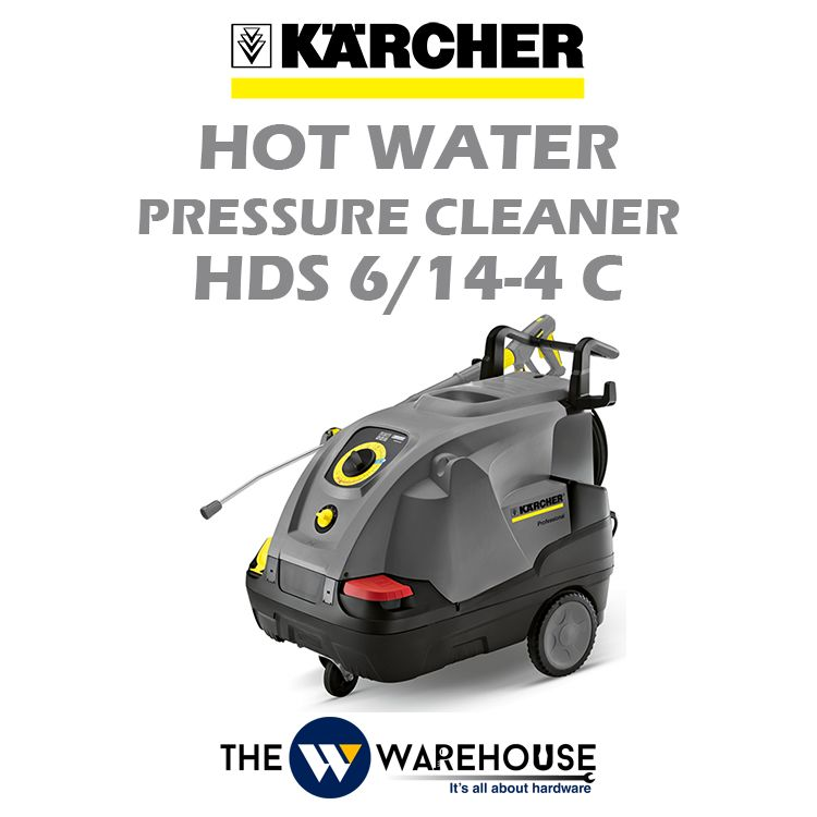 Karcher Hot Water Pressure Cleaner HDS 6/14-4 C