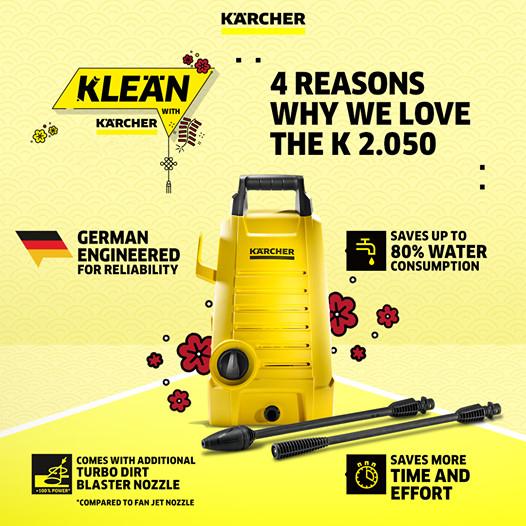 Karcher High Pressure Cleaner K2.050