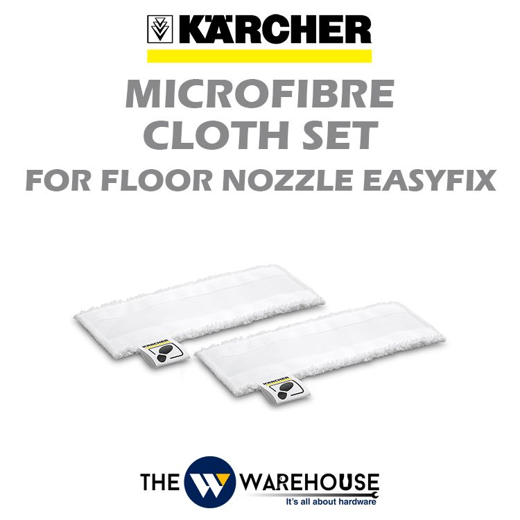 Karcher Microfibre Cloth Set for Floor Nozzle EasyFix 2.863-259.0