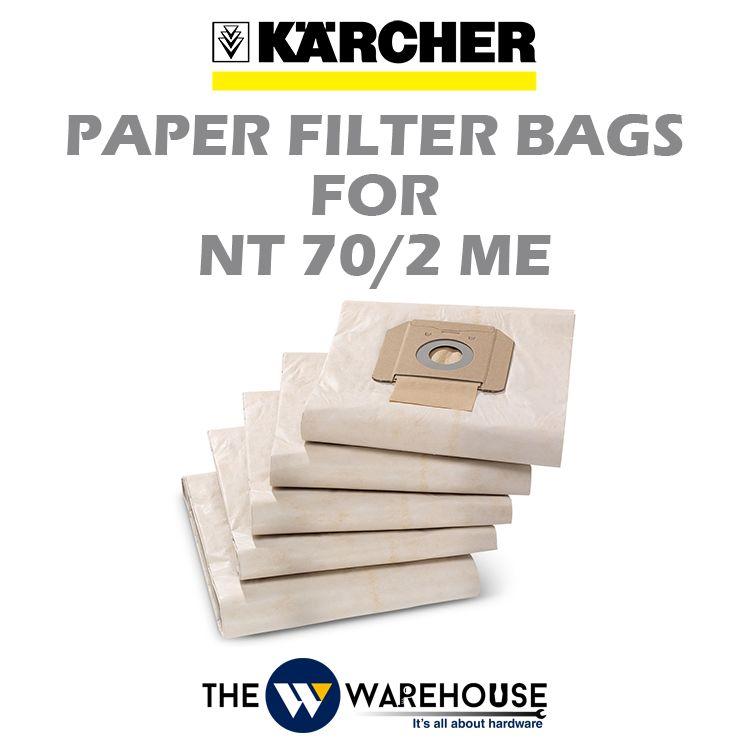Karcher Paper Filter Bags for NT70/2