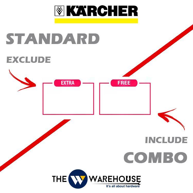 karcher standard & combo
