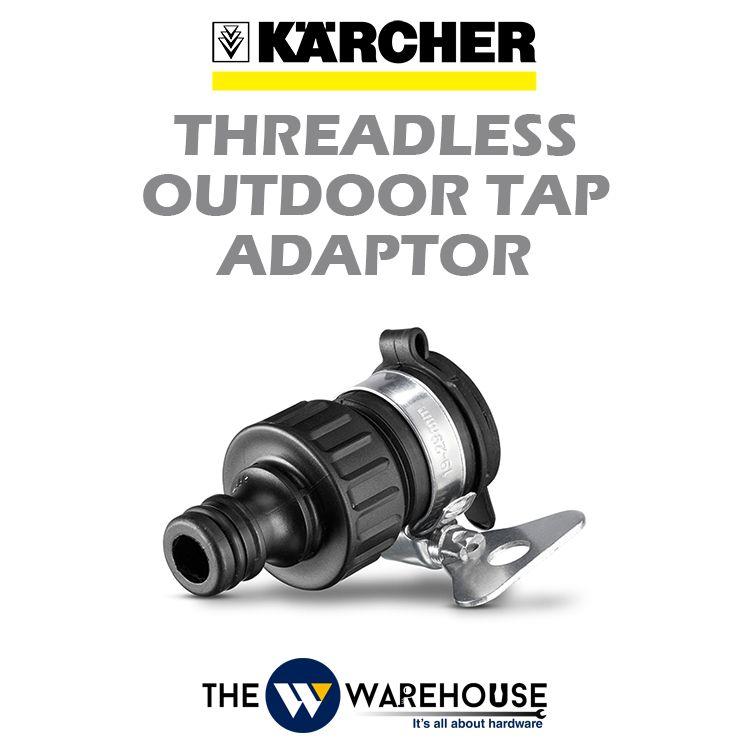 Karcher Threadless Outdoor Tap Adaptor