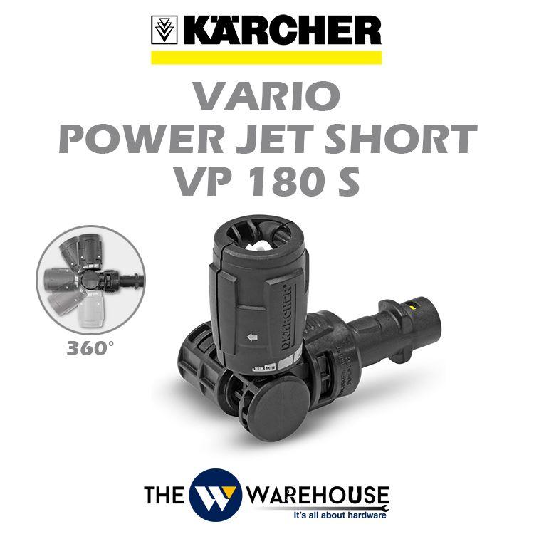 Karcher Vario Power Jet Short 360 degree VP180S