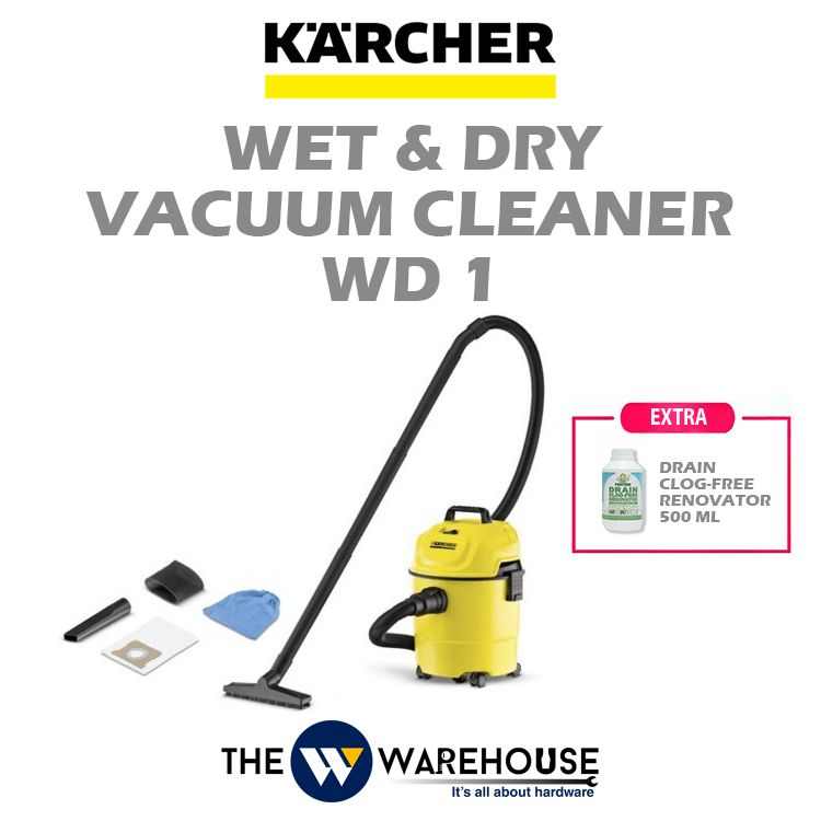 Karcher Wet & Dry Vacuum Cleaner WD 1