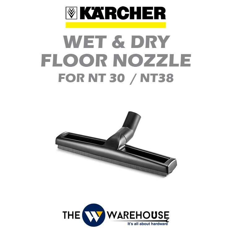 Karcher Wet and Dry Floor Nozzle for NT30/1 & NT38/1