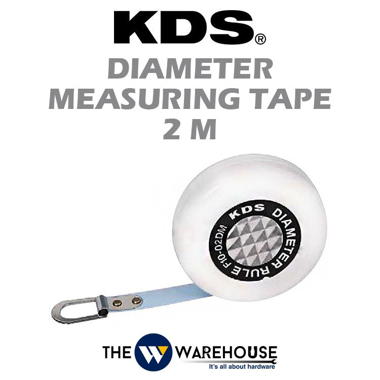 KDS Diameter Measuring Tape 2m