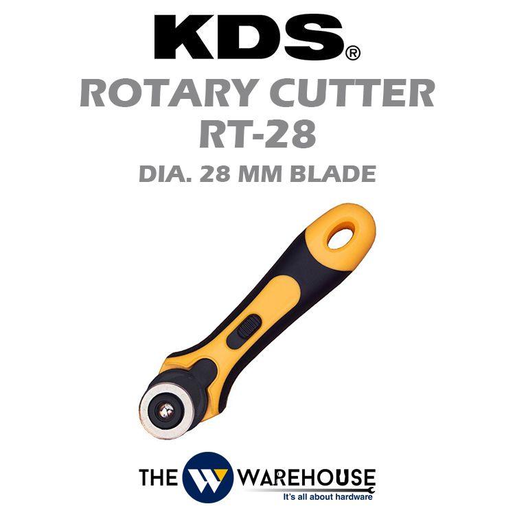 KDS GripFit Rotary Cutter RT-28