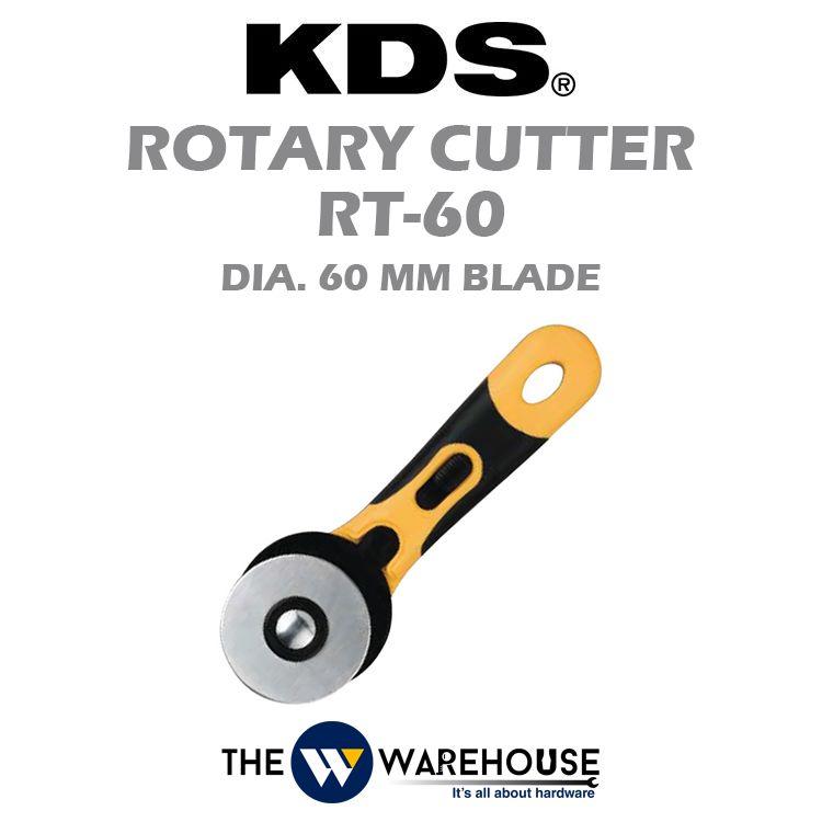 KDS GripFit Rotary Cutter RT-60