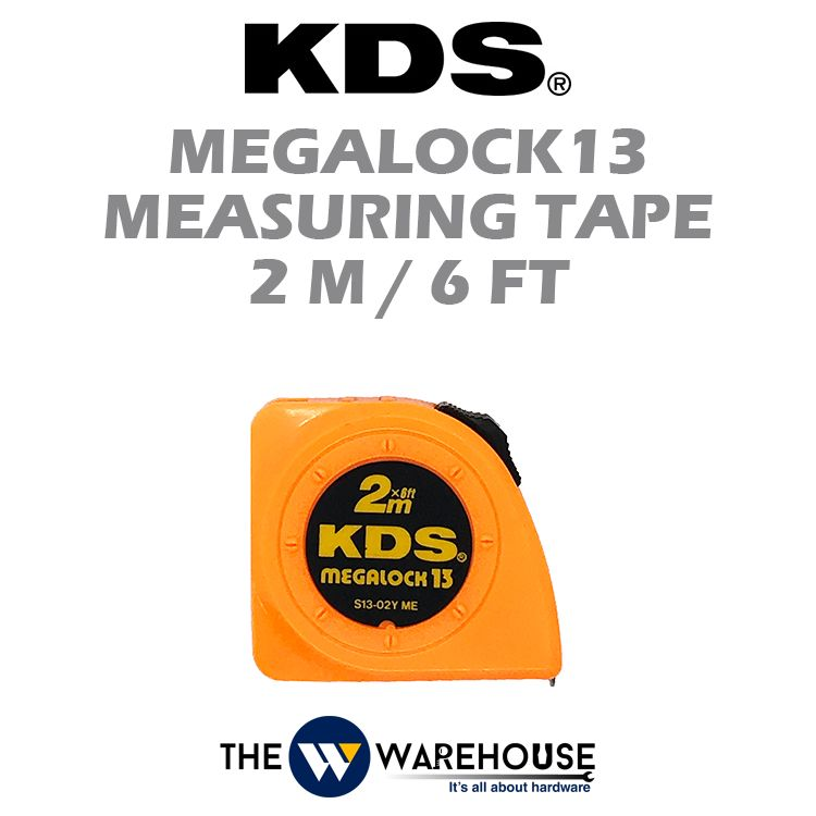 KDS Megalock13 Measuring Tape 2m