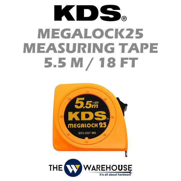 KDS Megalock25 Measuring Tape 5.5m