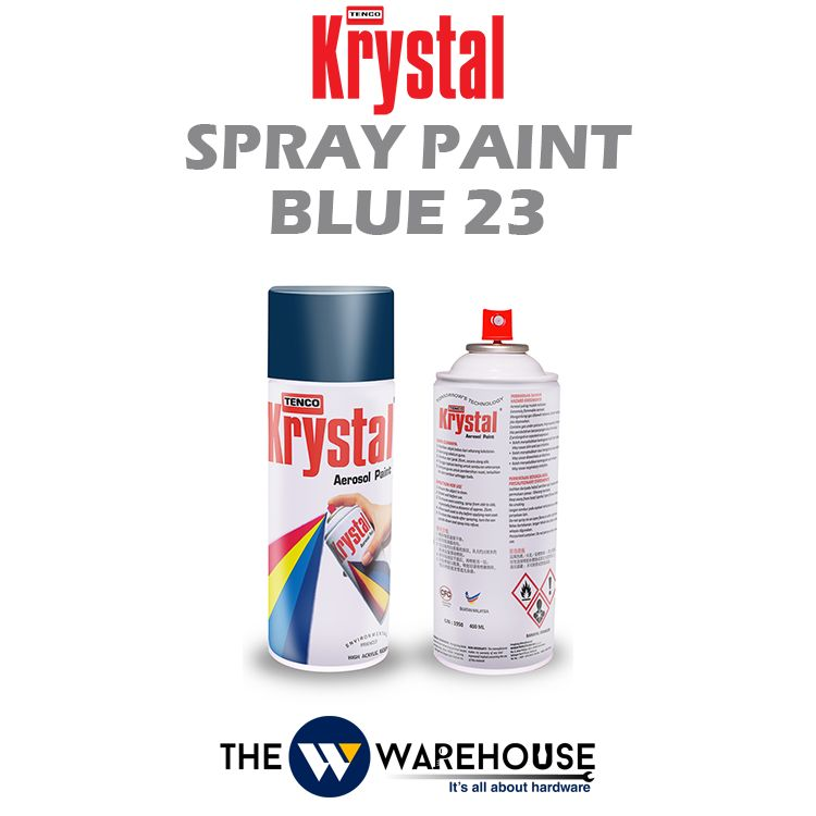 Krystal Spray Paint Blue 23