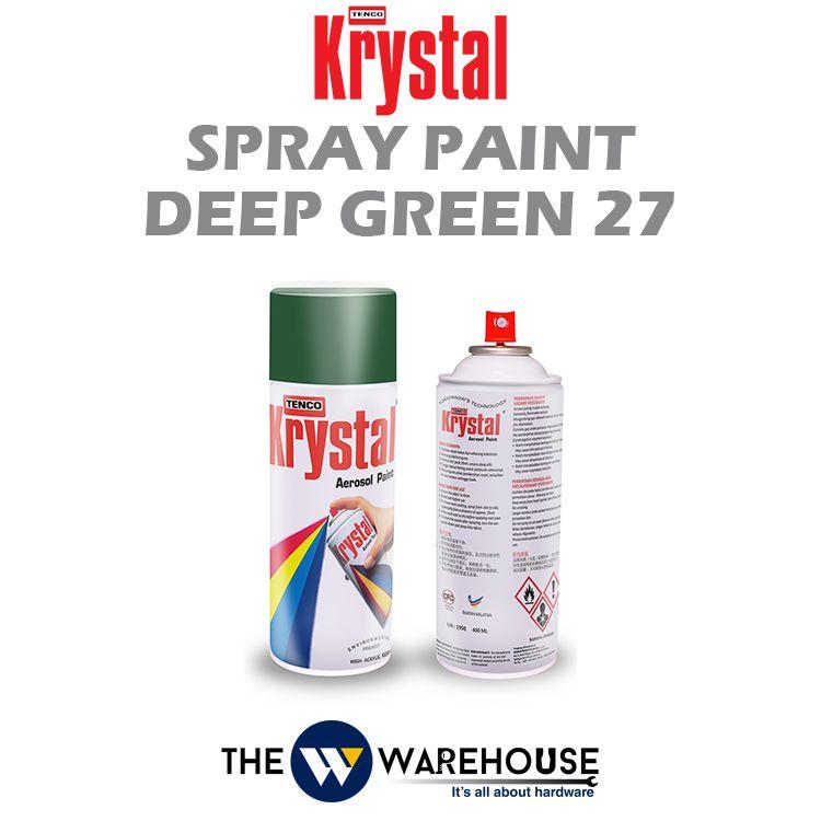 Krystal Spray Paint Deep Green 27
