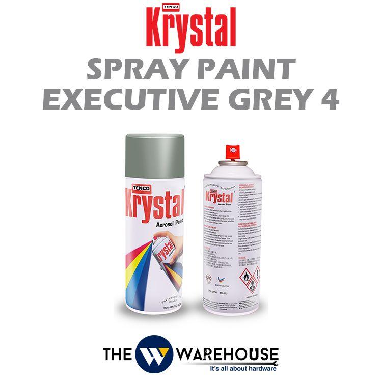 Krystal Spray Paint Executive Grey 4