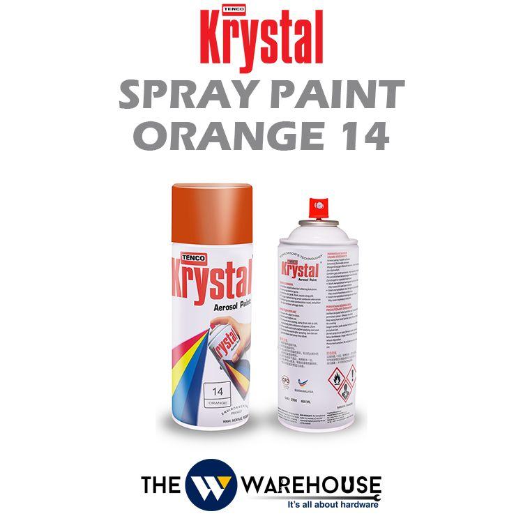 Krystal Spray Paint Orange 14