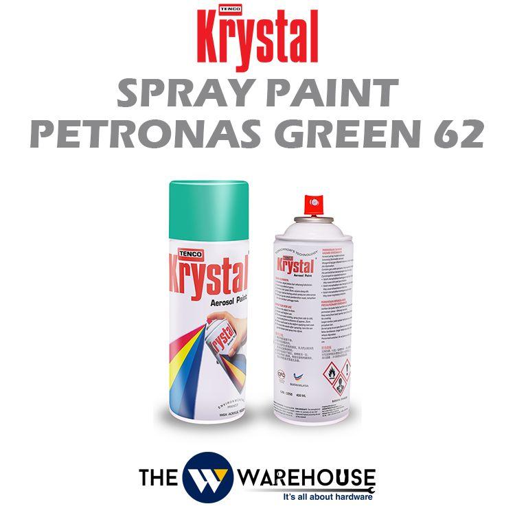 Krystal Spray Paint Petronas Green 62